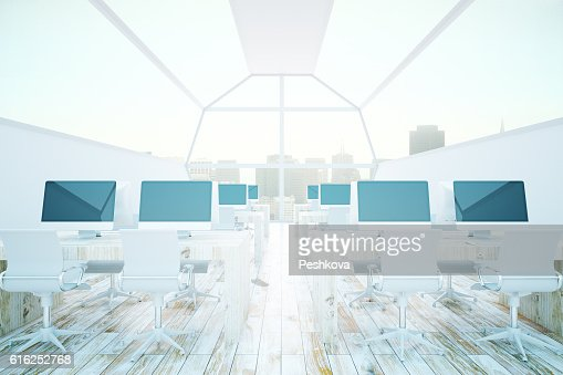 Modern coworking office : Stock Photo