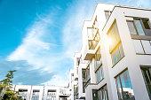 modern residential building in berlin