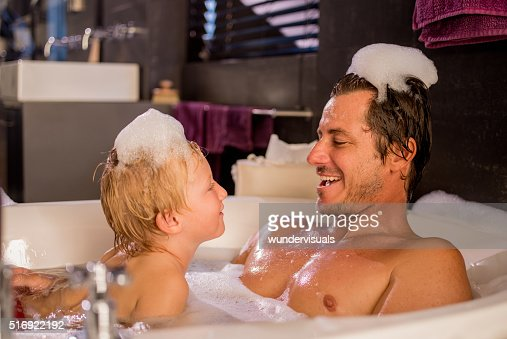 from Tate daddy and son bathing nude