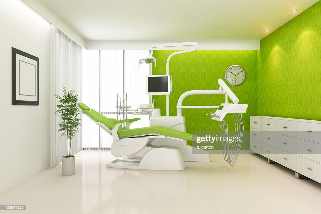 Modern Dental Office Stock Photo