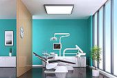 Modern Dentist Office