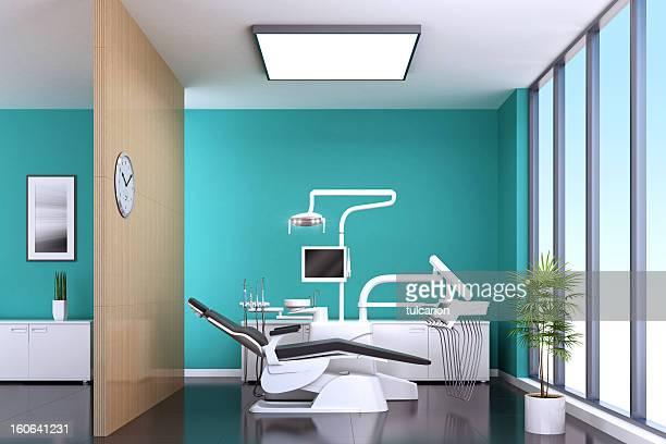 Moderne Zahnarzt Büro
