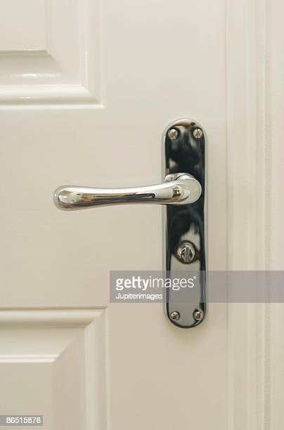 Modern design handle on door