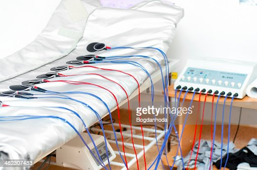 electrostimulation médicos modernos equipos para uso intramuscular p : Foto de stock