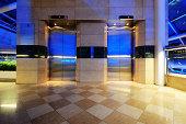 Modern elevator doors