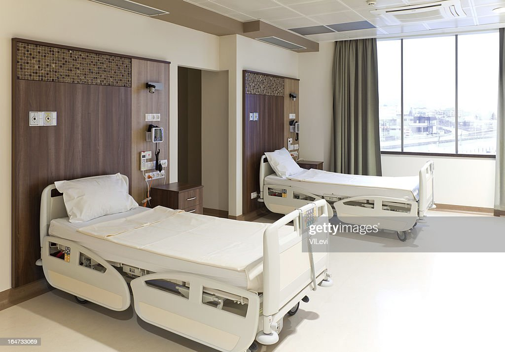 Exceptionnel Hôpital Vide Chambre Moderne : Photo