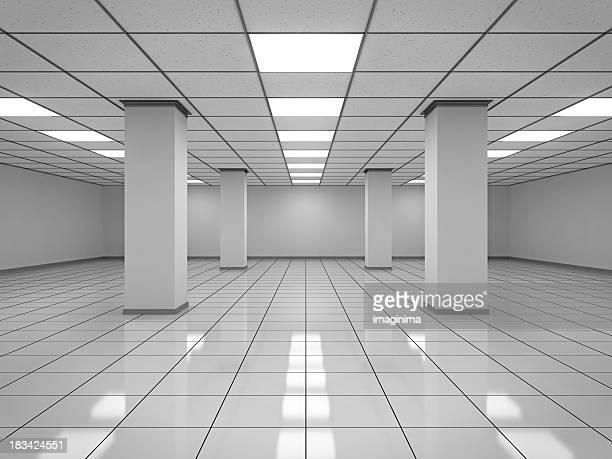 Moderne leeren Raum