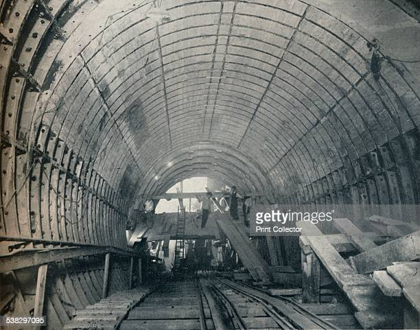 No 3 escalator tunnel at Piccadilly Circus Station 1929 The station was opened on 10 March 1906 and was designed by Charles Henry Holden From The...