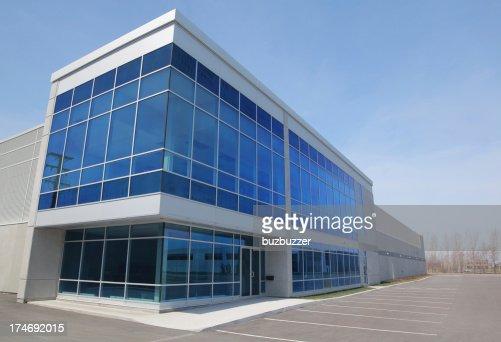 Modern Entreprise Exterior : Stock Photo