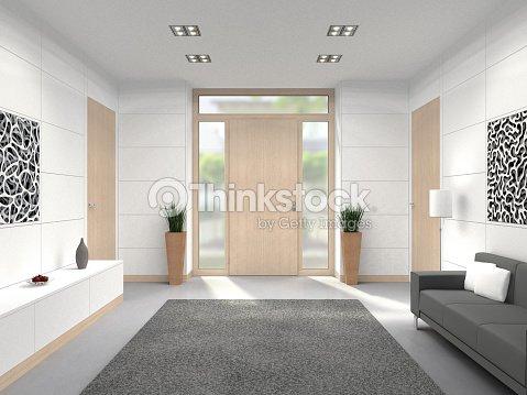 hall d entr e moderne de lint rieur photo thinkstock. Black Bedroom Furniture Sets. Home Design Ideas