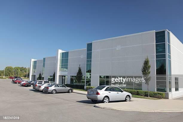 Moderne Alltag Industrie Gebäude
