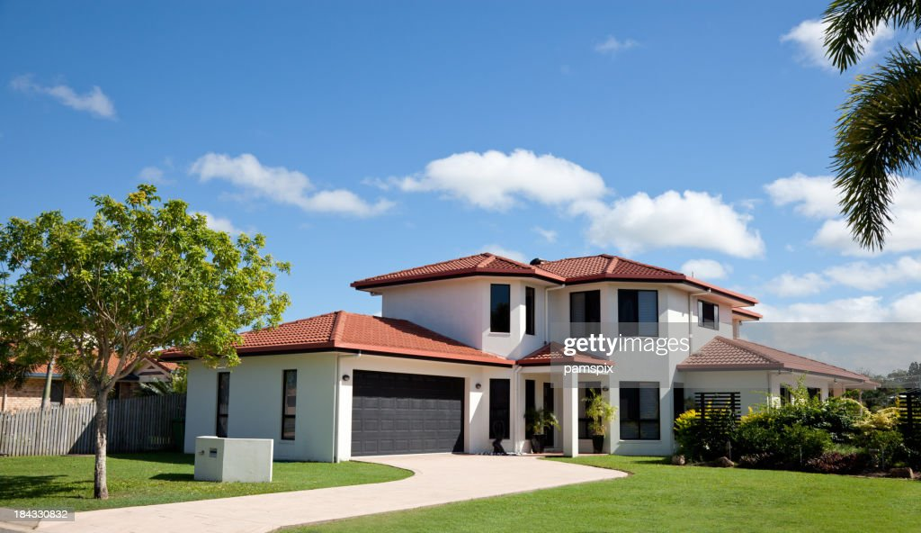 Modern Family Home Frontage