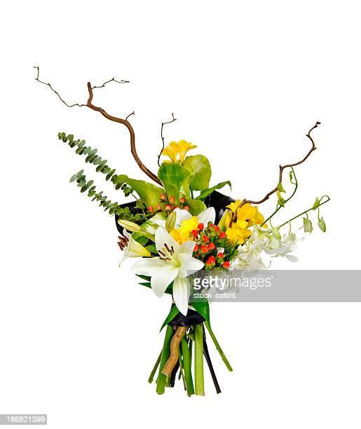 Moderne Blumenstrauß