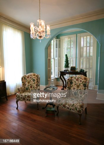 Modern Formal Living Room Stock Photo Getty Images