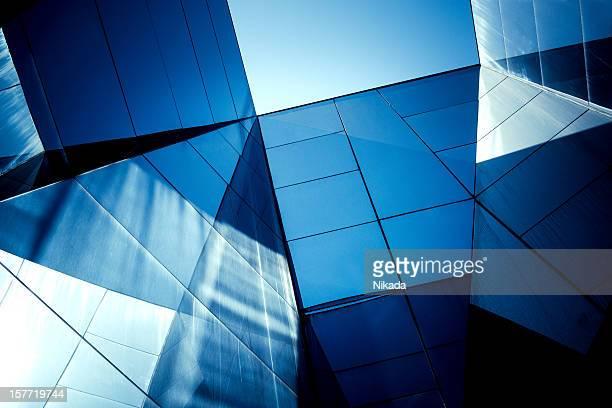 Architecture moderne en verre