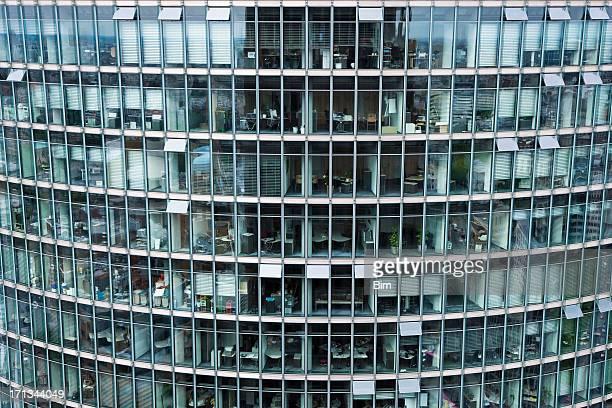 Moderne Glas-Gebäude, Berlin, Deutschland