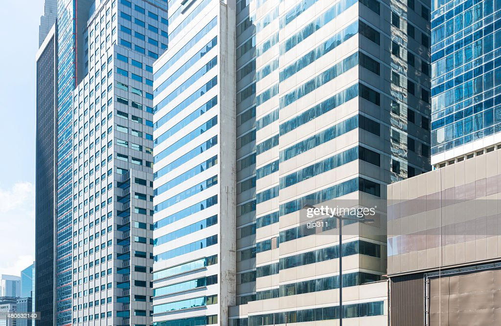 Moderne Glas-Gebäude : Stock-Foto