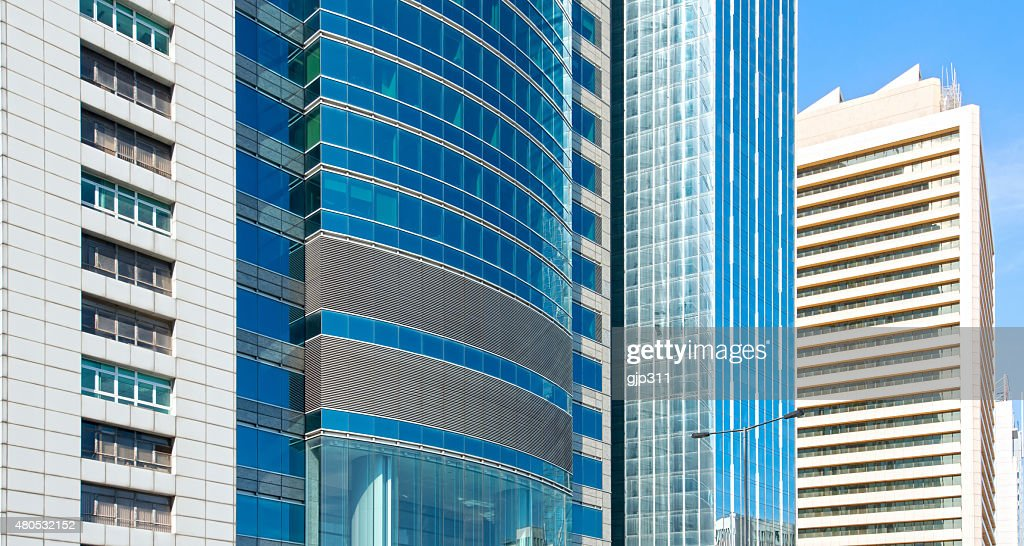 modern glass building : Stockfoto