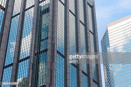 modern glass building : Stockfoto