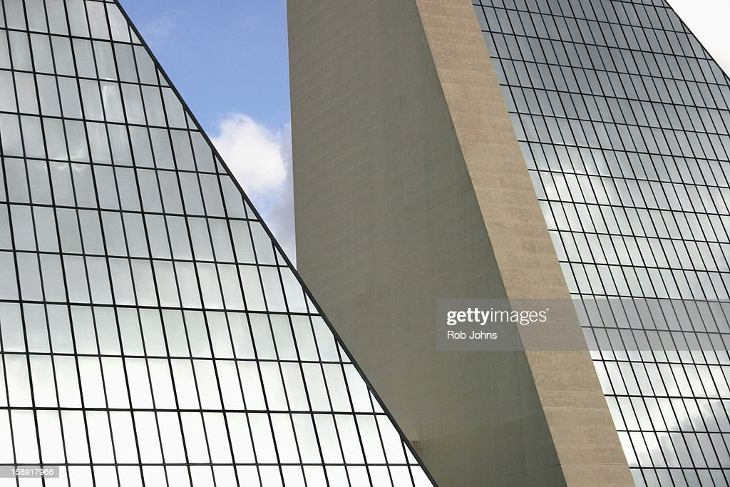 Modern glass buildings : Stock Photo