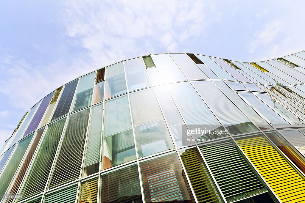 Modern Glass Facade : Stock Photo