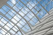 Modern glass roof