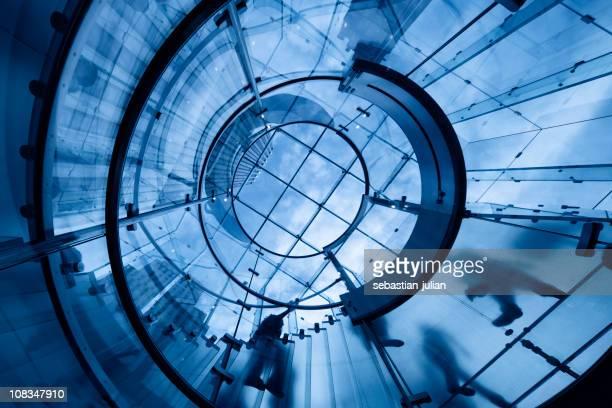 Moderne Glas-Treppe in manhattan