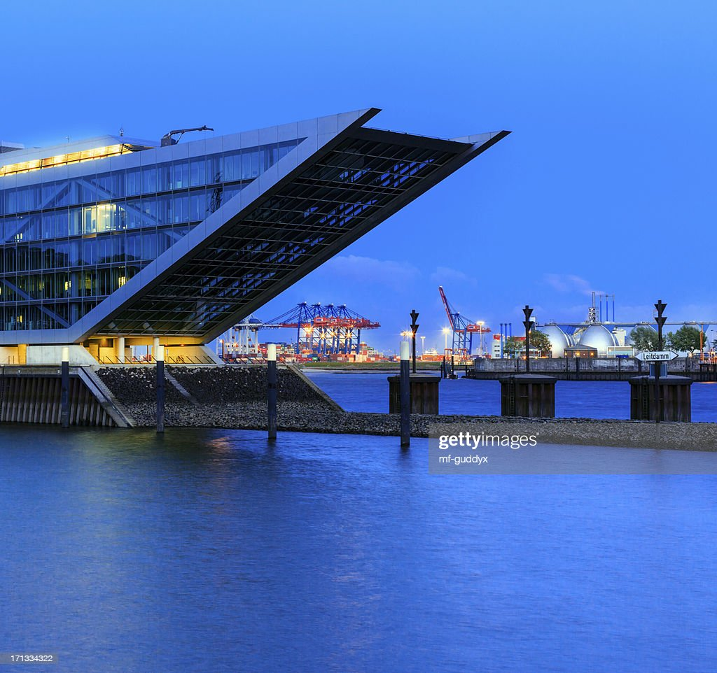 Modern harbour - office building