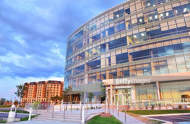 Modern Head Office Buiding Facade
