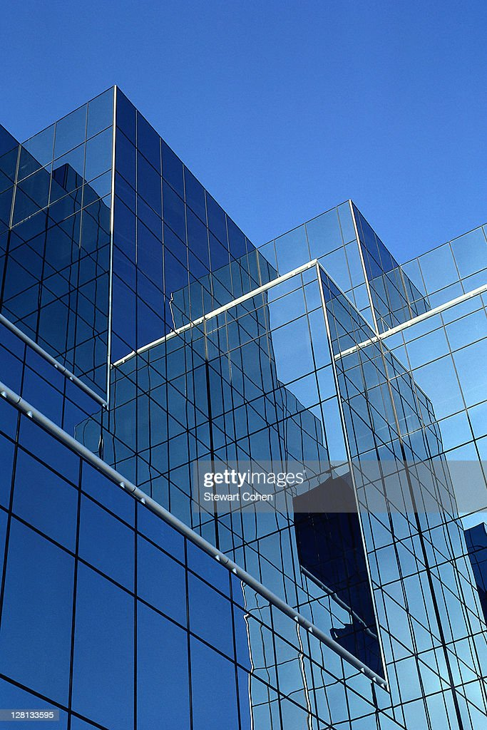 URBPE066 Modern high rise exterior, Dallas, Texas : Stock Photo