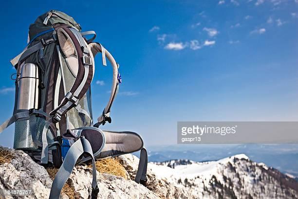 modern hiking rucksack