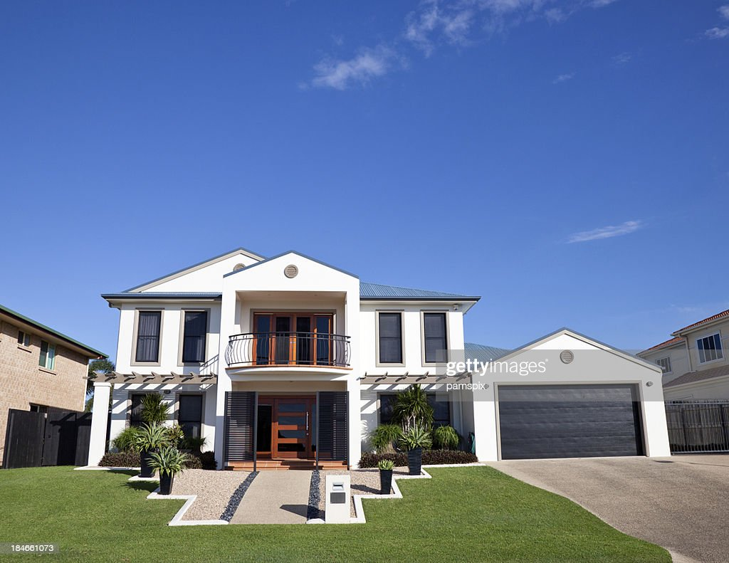 Modern Home Frontage
