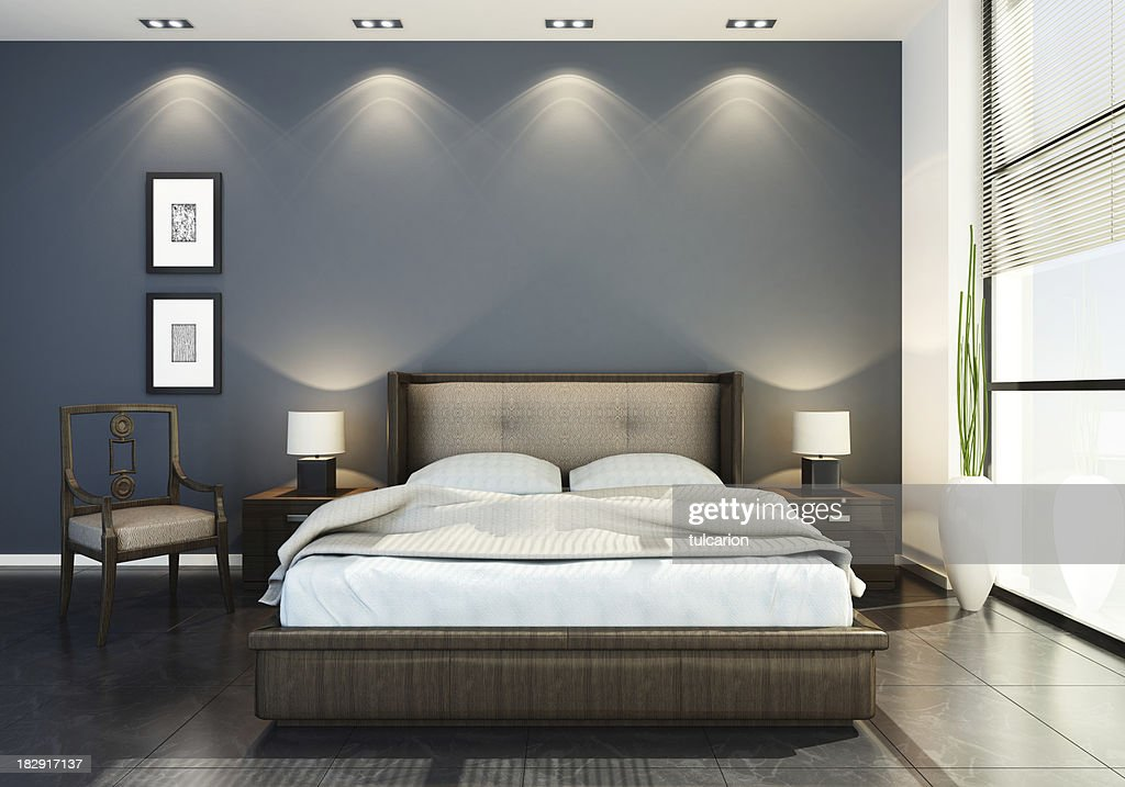 Modern Hotel Bedroom modern hotel bedroom stock photo | getty images