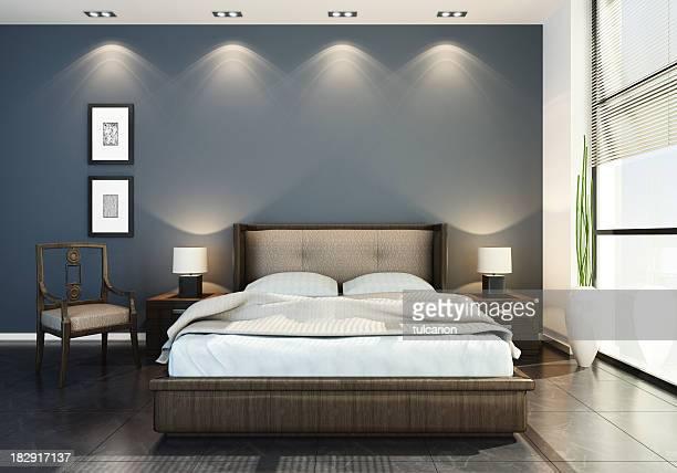 Modernes Hotel Schlafzimmer