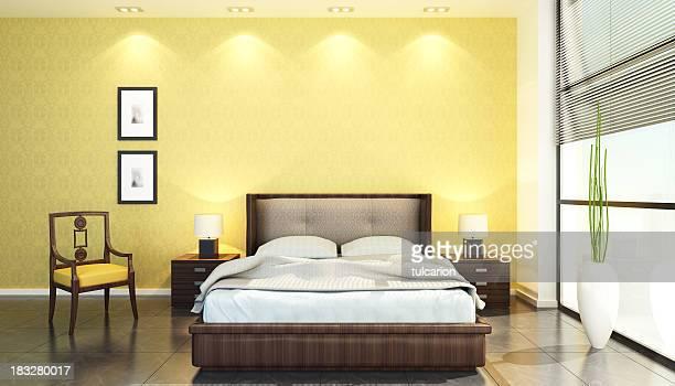 Moderna habitación de Hotel
