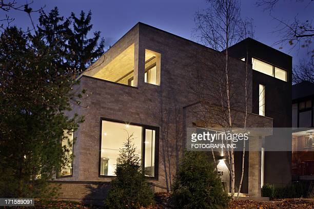 Modernes Haus Außenansicht