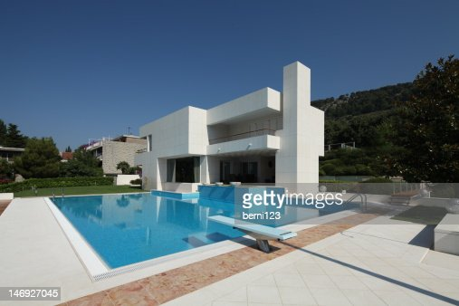 modern house : Stock Photo