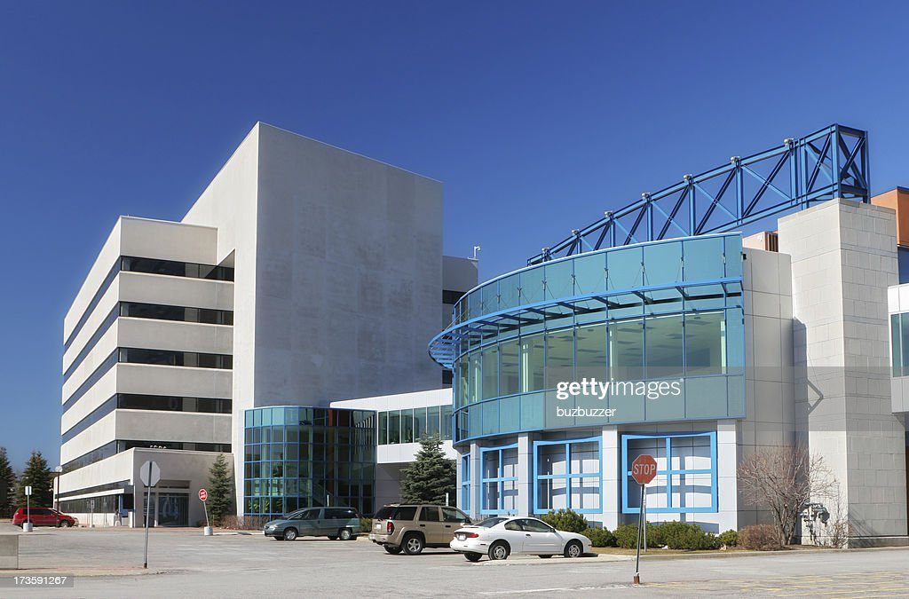Modern Industrial Building Exterior : Stock Photo