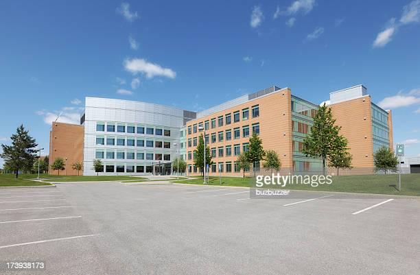 Modern Institute Building Exterior