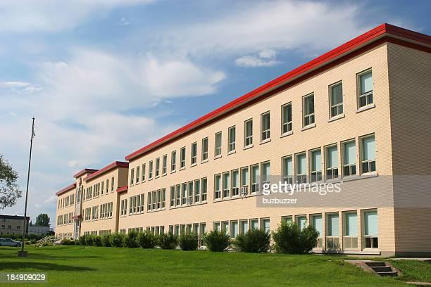Moderne Institute Außenansicht des Gebäudes