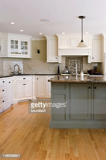 Modern interior  kitchen : Stock Photo