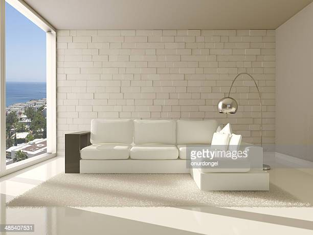 interior moderno de sala de estar
