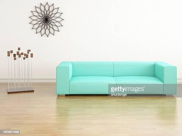 Intérieur moderne, salle de séjour