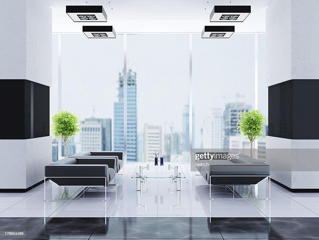 Moderne interior von hall stock foto thinkstock