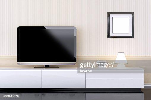 Modern Interior with TV