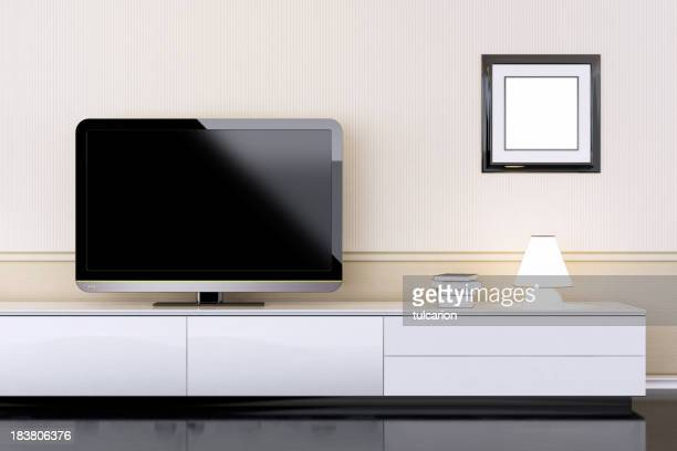 Modern Interior with TV