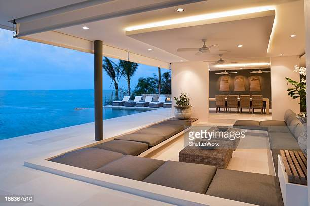 Moderne de la Villa Island