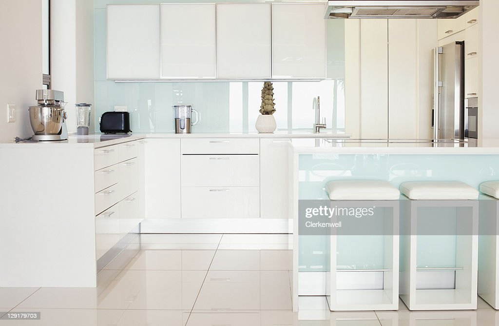 Modern kitchen counter : Stock Photo