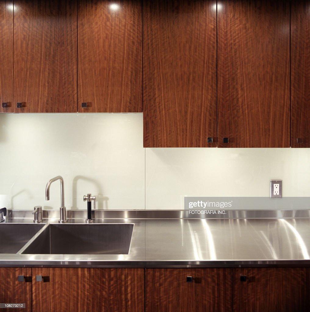 Modern Kitchen detail : Stock Photo
