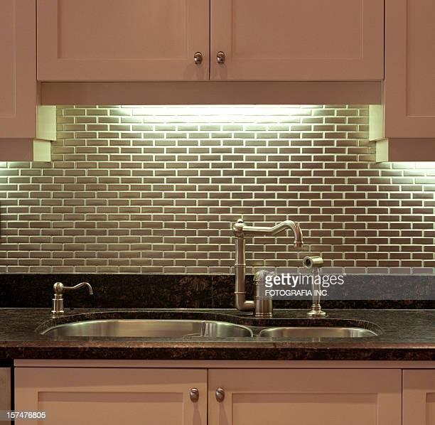 Moderna cocina detalle